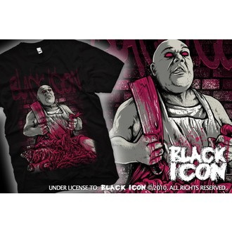 t-shirt hardcore pour hommes - Black - BLACK ICON, BLACK ICON