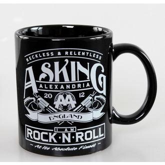 tasse Asking Alexandria - Rock N Roll - ROCK OFF, ROCK OFF, Asking Alexandria