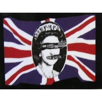 drapeau Sex Pistols - God Save The Queen, HEART ROCK, Sex Pistols