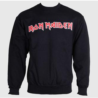 sweat-shirt avec capuche pour hommes Iron Maiden - Logo - ROCK OFF - IMSWT02