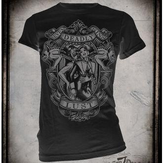t-shirt hardcore pour femmes - Lust - SE7EN DEADLY, SE7EN DEADLY