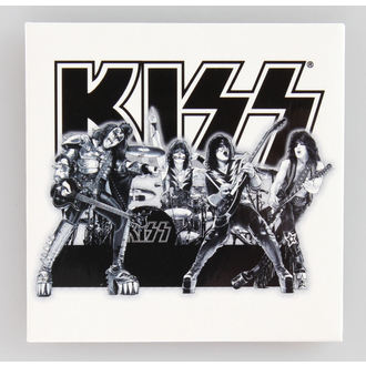 aimant Kiss - Graphite Band - ROCK OFF, ROCK OFF, Kiss