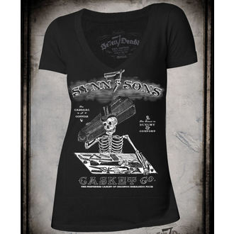 t-shirt hardcore pour femmes - Synn & Sons - SE7EN DEADLY, SE7EN DEADLY