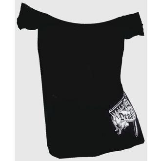 t-shirt hardcore pour femmes - Hells Bidding OffShoulder - SE7EN DEADLY, SE7EN DEADLY