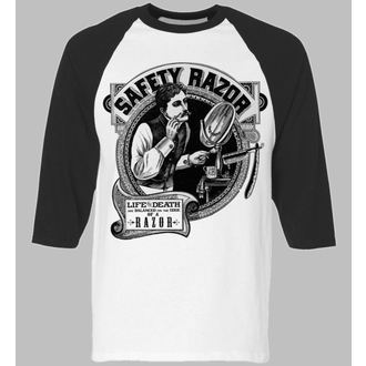 t-shirt hardcore pour hommes - Safety Razor BaseBall - SE7EN DEADLY, SE7EN DEADLY