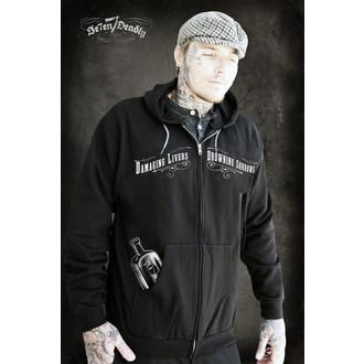 sweat-shirt avec capuche pour hommes - Bootlegger - SE7EN DEADLY, SE7EN DEADLY