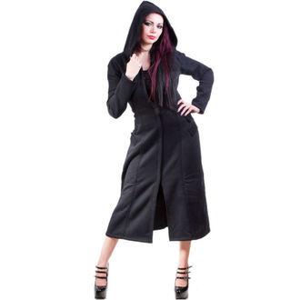 manteau pour femmes -printemps-automne- NECESSARY EVIL - Alcis - Noire, NECESSARY EVIL
