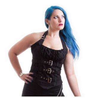corset pour femmes NECESSARY EVIL - Vesna - Noire, NECESSARY EVIL