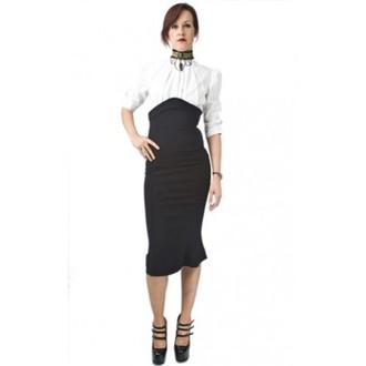 jupes pour femmes NECESSARY EVIL - Lyssa Élevé Waisted - Noire, NECESSARY EVIL