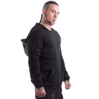 sweat-shirt avec capuche pour hommes - Cratos o Ring - NECESSARY EVIL, NECESSARY EVIL