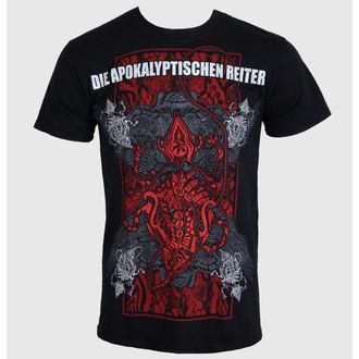 tee-shirt métal pour hommes Die Apokalyptische Reiter - Die Welt Ist Tief 2014 - MASSACRE RECORDS, MASSACRE RECORDS
