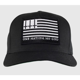 casquette NOIRE CRAFT - One Nation, No God - Noire, BLACK CRAFT