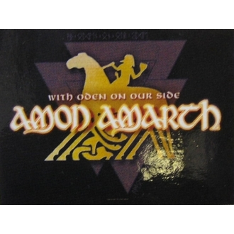 drapeau Amon Amarth - With Oden Your Side, HEART ROCK, Amon Amarth