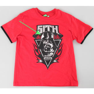 ensemble d'enfant ( t-shirt, shorts) TV MANIA - Étoile Wars Clone - Rouge - Étoile 825, TV MANIA