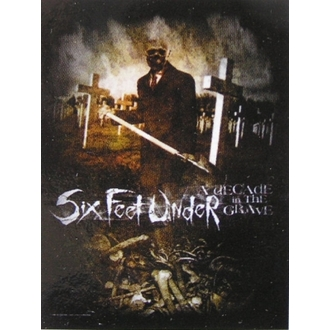 drapeau Six Feet Under - Décennie In The Grave, HEART ROCK, Six Feet Under
