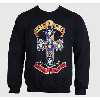 sweat-shirt sans capuche pour hommes Guns N' Roses - Black Cross - BRAVADO