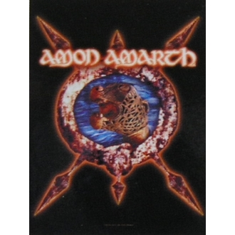 drapeau Amon Amarth HFL 828, HEART ROCK, Amon Amarth
