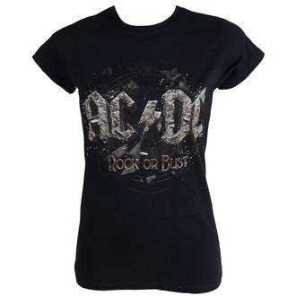 tee-shirt métal pour femmes AC-DC - Rock Or Bust - LIVE NATION, LIVE NATION, AC-DC