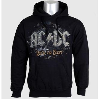 sweat-shirt avec capuche pour hommes AC-DC - Rock Or Bust - LIVE NATION - PE12106HSBP