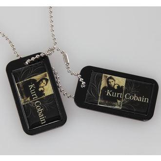 collier (de chien plaque) Kurt Cobain - Blue Crest - LIVE NATION, LIVE NATION, Nirvana
