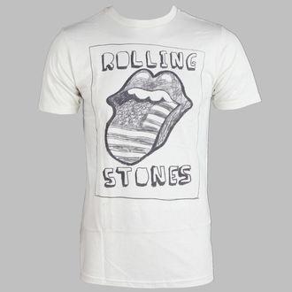 tee-shirt métal pour hommes Rolling Stones - US Sketch Tongue - BRAVADO, BRAVADO, Rolling Stones