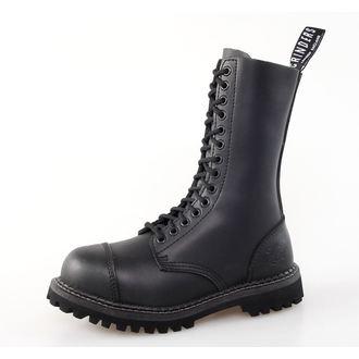 chaussures GRINDERS - 14dírkové - Herald Derby - Noire