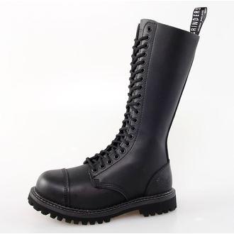 chaussures GRINDERS - 20dírkové - king Derby - Noire
