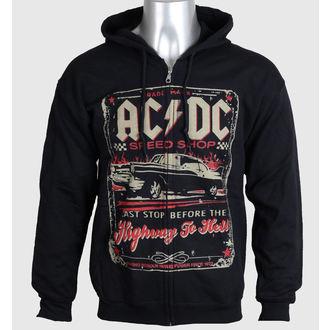 sweat-shirt avec capuche pour hommes AC-DC - Speed Shop - LIQUID BLUE - 32818