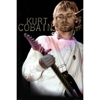 affiche Kurt Cobain - Cook - GB Affiches, GB posters, Nirvana