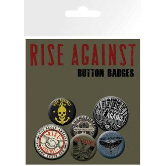 épinglettes Rise Against - Tremblement Hands - GB Affiches, GB posters, Rise Against