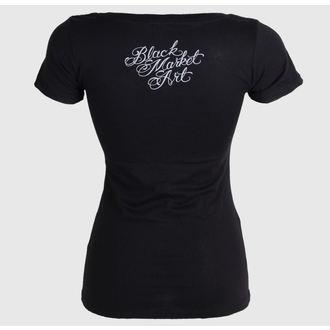 t-shirt hardcore pour femmes - Charlie Medina - BLACK MARKET, BLACK MARKET