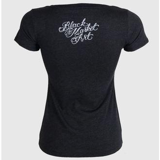 t-shirt hardcore pour femmes - Larry Garcia - BLACK MARKET, BLACK MARKET