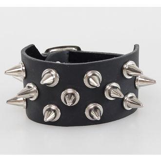 bracelet PICS 3, BLACK & METAL