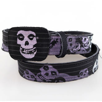ceinture BIOWORLD - Misfits - Noire Leather, BIOWORLD, Misfits