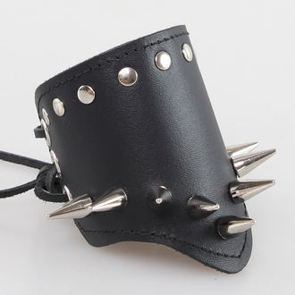bracelet BWZ-600, BLACK & METAL