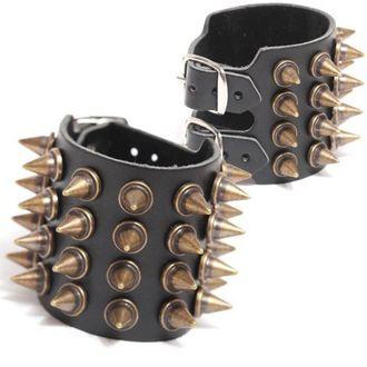 bracelet PICS 4, BLACK & METAL
