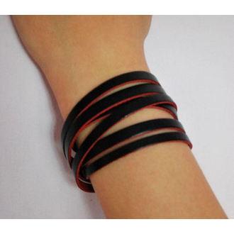 bracelet BWZ-521, BLACK & METAL