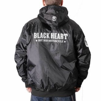 Veste pour homme BLACK HEART - BARKER - NOIR, BLACK HEART