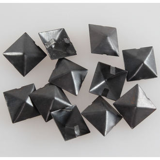 pyramides en métal NOIRE - 10ks, BLACK & METAL
