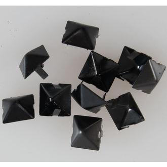 pyramides en métal NOIRE - 10ks - CW-076