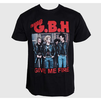 tee-shirt métal pour hommes G.B.H. - Give Me Fire - CARTON, CARTON, G.B.H.