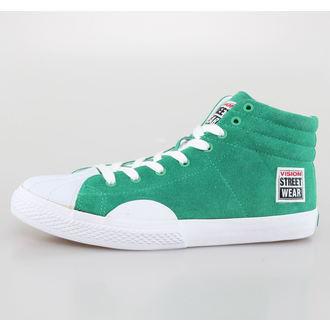 chaussures pour hommes VISION - Suede HI - Pepper Vert / Blanc, VISION