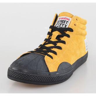 chaussures pour hommes VISION - Suede HI - Moutarde / Noir, VISION