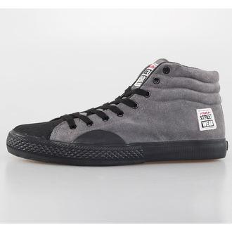 chaussures pour hommes VISION - Suede HI - Charbon / Noir, VISION