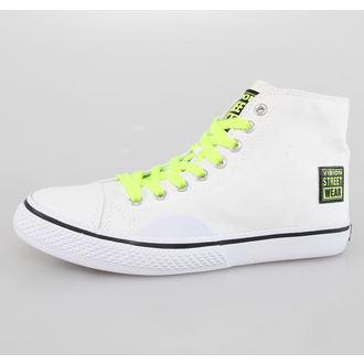 chaussures de tennis montantes pour femmes - Canvas HI - VISION, VISION