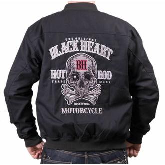 Veste pour homme BLACK HEART - BENDER - NOIR, BLACK HEART