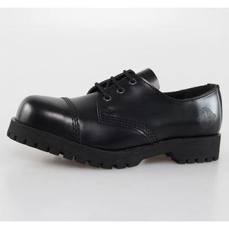 chaussures NEVERMIND - 3 trous - Noire Polido, NEVERMIND