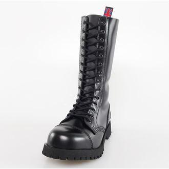 chaussures NEVERMIND - 14 trous - Noire Polido, NEVERMIND