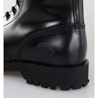 chaussures NEVERMIND - 14 trous - Noire Polido