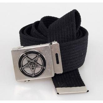 ceinture PENTAGRAM - Noire, BLACK & METAL